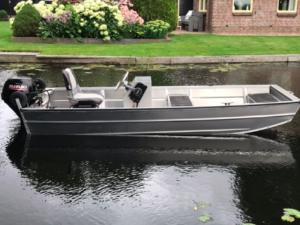 Jon boat F360 alumīnija laiva