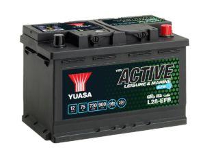 Akumulators YUASA L28-EFB