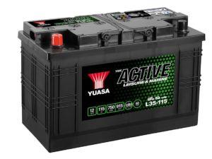 Akumulators YUASA L35-115