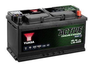 Akumulators YUASA L36-AGM